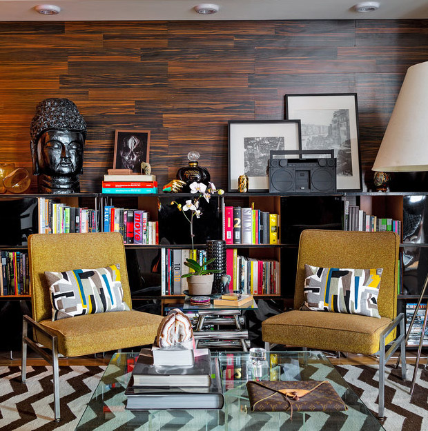 decoracao de sala retro:living-gazette-barbara-resende-decor-tour-sala-retro-moderna-classica