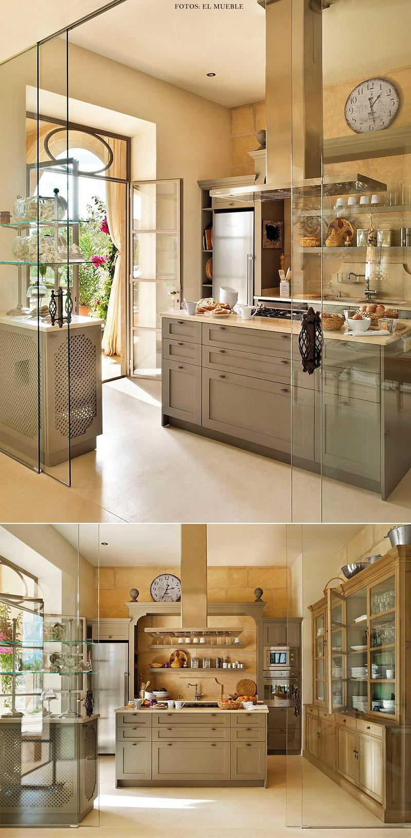 Porta De Vidro Para Sala De Jantar ~ Divisão sutil de espaços porta de vidro separa cozinha da sala