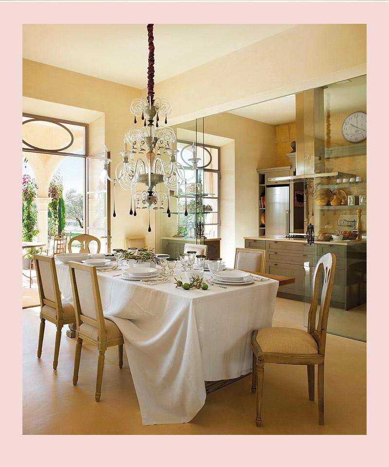 Vidro Na Sala De Jantar ~ Divisão sutil de espaços porta de vidro separa cozinha da sala