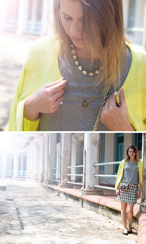 living-gazette-barbara-resende-moda-meu-look-saia-tweed-cardiga-bijoux