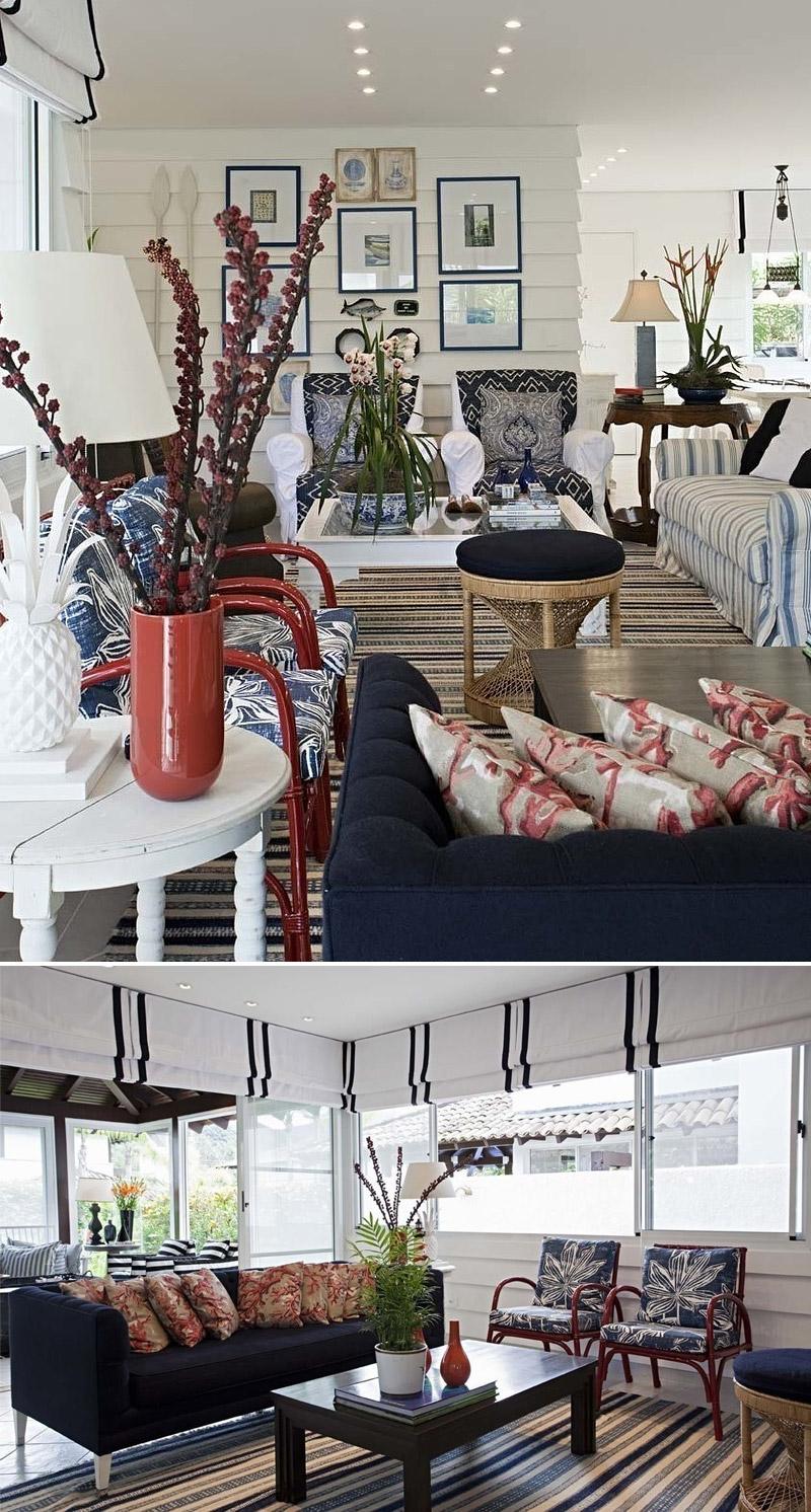 decoracao sala branco e azul barbararesendedecorsalacasapraia