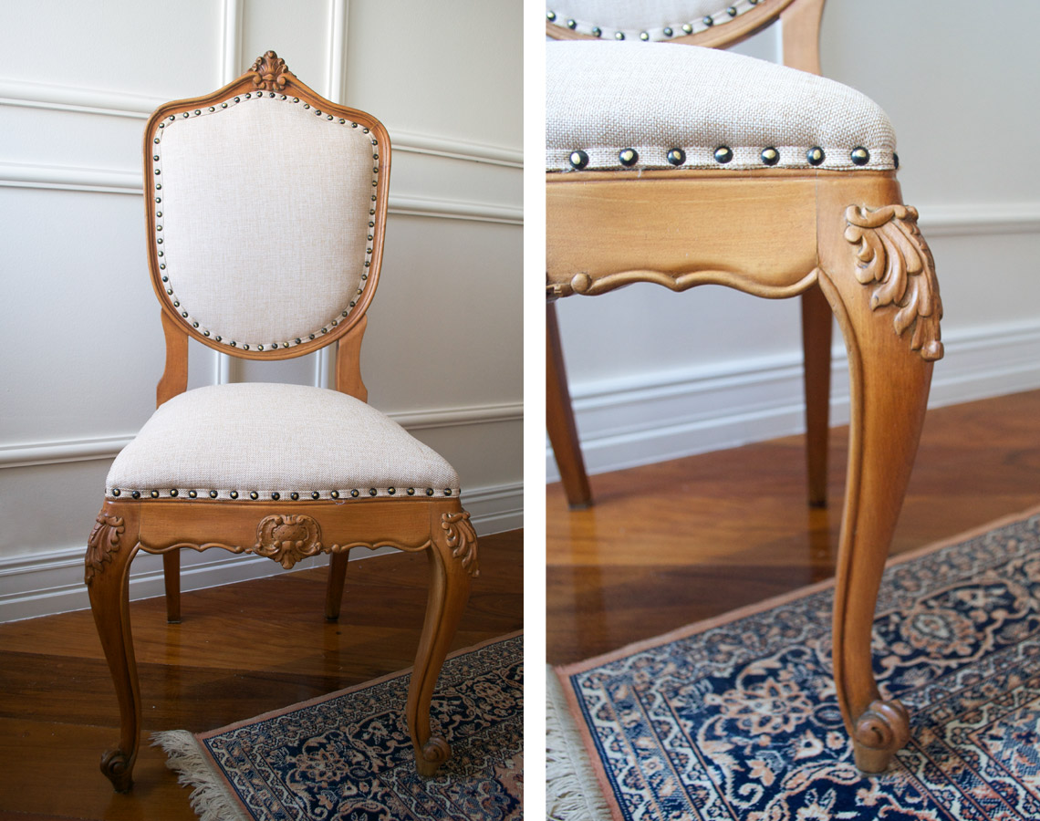 Image of: Minhas Novas Cadeiras Da Mesa De Jantar Living Gazette